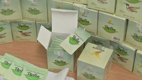 베트남산 '다이어트 차'에서 발암물질 검출