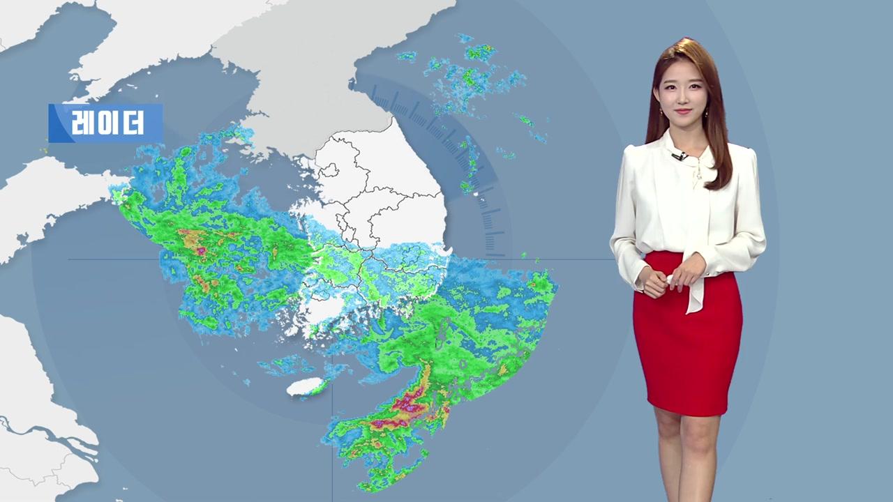 [날씨] 퇴근길 전국으로 비 확대...제주·남해안 벼락·돌풍