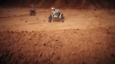 NASA, 화성 땅에선 흙 채취…하늘엔 헬리콥터!