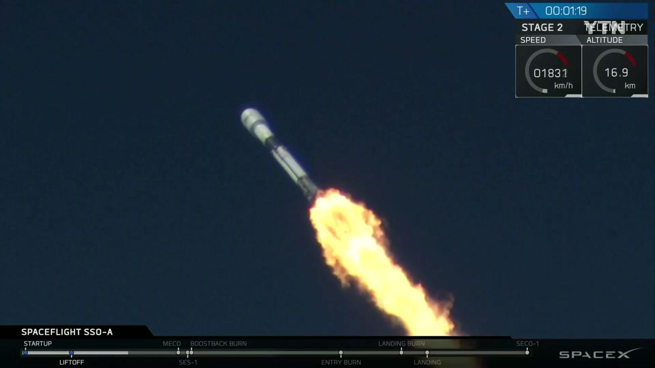 하늘에서 로켓 쏜다!...기상천외 민간우주기업