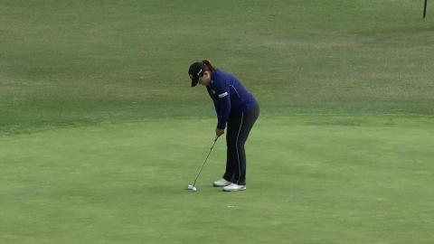 박인비, LA오픈 3라운드 4타 차 3위