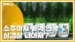 [자막뉴스] 소주까지 가격 인상...삼겹살마저 폭등 조짐