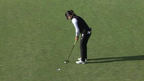 유소연, LPGA 챔피언십 2라운드 단독 선두