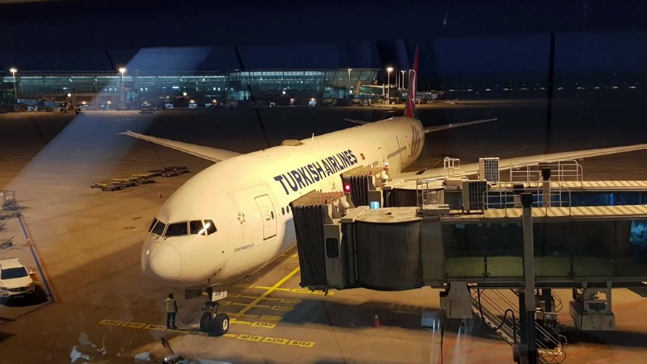 '7시간 지연' 터키항공...취소 승객 짐 싣고 이스탄불로 출발