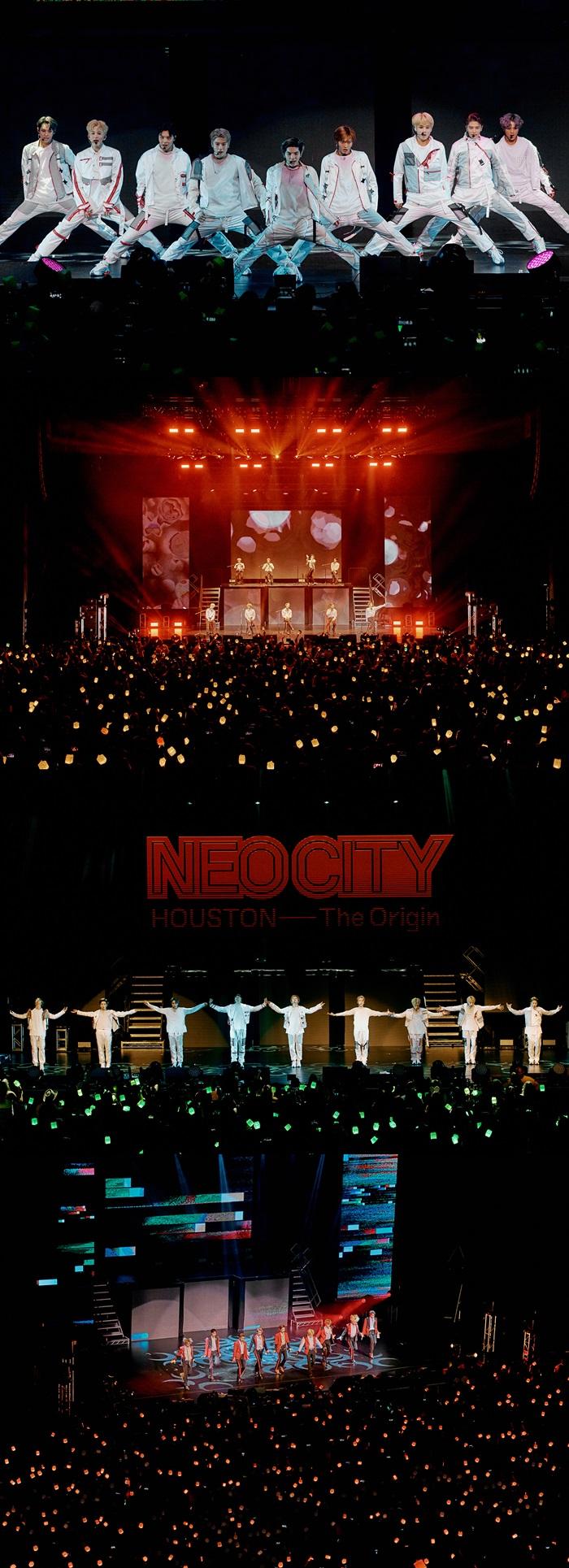 NCT 127, 북미 투어 반환점 돌았다…휴스턴 공연도 성료