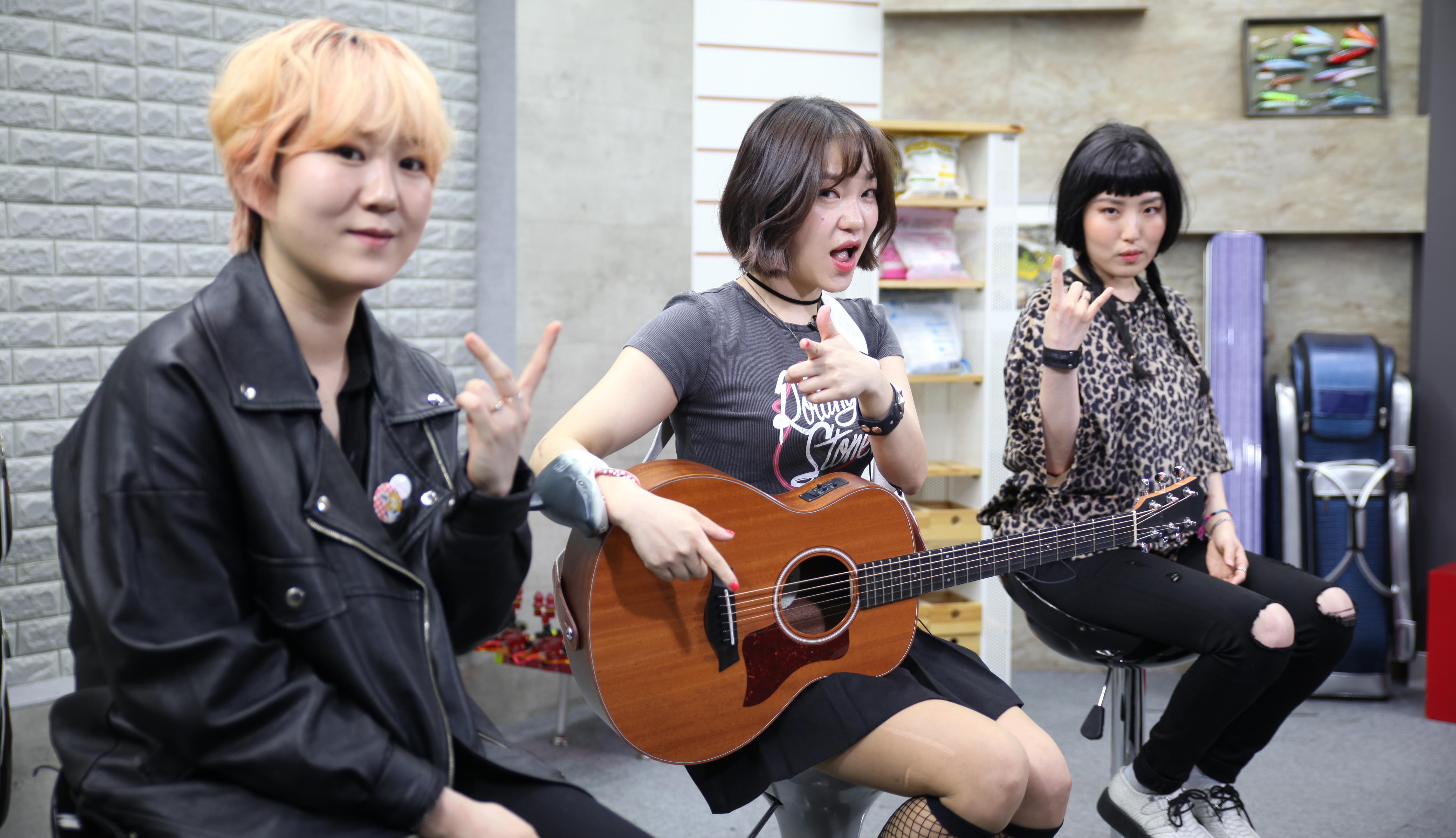 펑크락 밴드 피싱걸스, FTV 출연으로 낚시인 인증...콘셉트가 아닌 진정 낚시인 될터