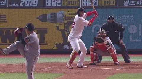 한동민 홈런 2방 7타점...SK 5연승