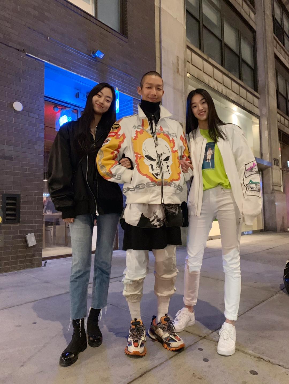 모델 권지야-수민-김설희의 근황, 뉴욕 거리에서 포착!
