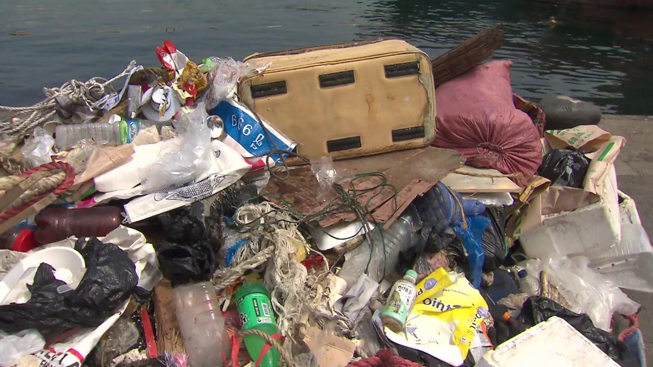 [영상] 바다 식목일인데...바닷속은 '쓰레기 천지'