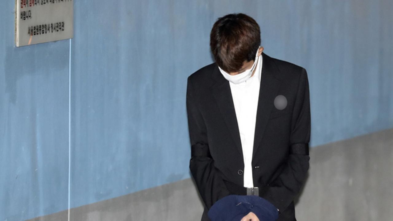 '성관계 몰카' 정준영, 법정에서 혐의 인정