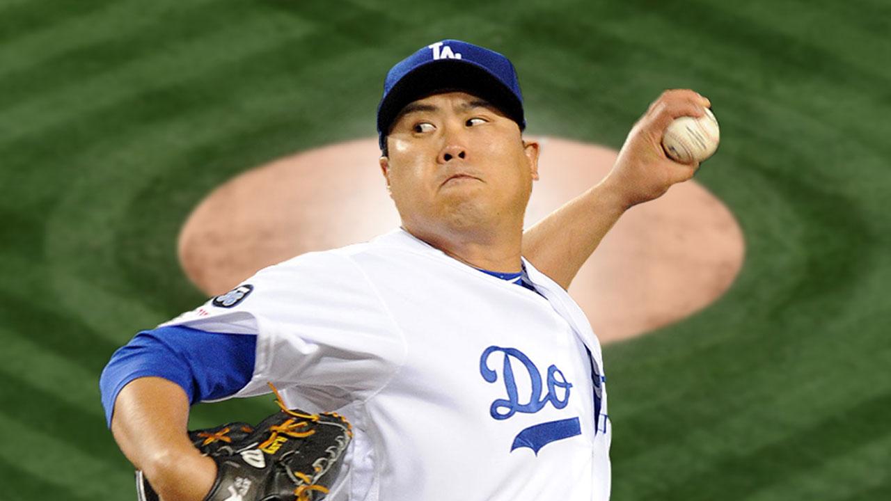 류현진, MLB '이주의 선수'로 선정...한국 메이저리거 5번째_이미지