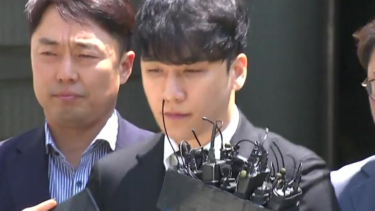 '성 접대·횡령 혐의' 승리, 구속영장 기각