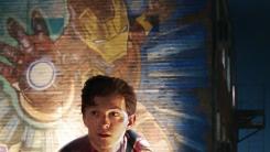 로다주X홀랜드, 한 화면에...뭉클한 '스파이더맨:파프롬홈'