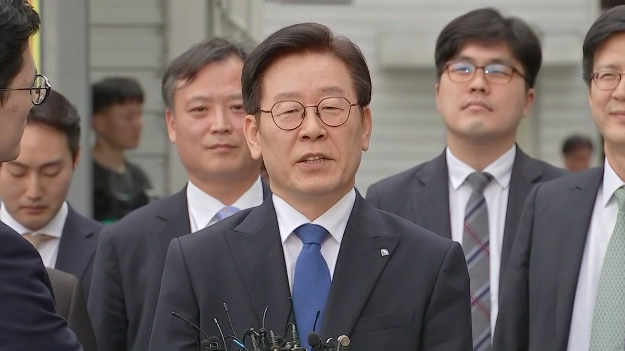 """이재명 """"재판부에 감사...도민 삶 개선으로 보답"""""""
