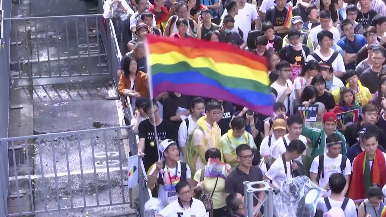 타이완, 동성 결혼 법적 인정...아시아 최초