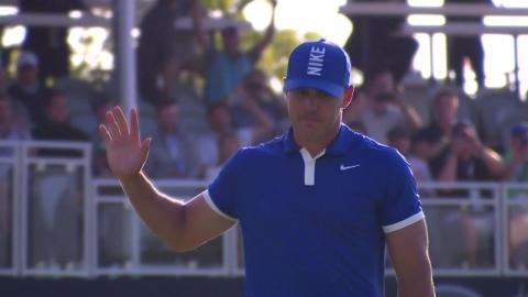 브룩스 켑카, PGA 챔피언십 이틀 연속 선두...우즈는 컷 탈락