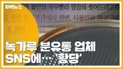 [자막뉴스] '녹가루 분유통' 업체의 황당한 거짓 홍보