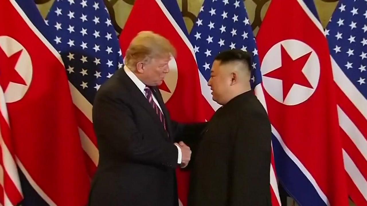"""트럼프 """"北 핵시설 5곳...1~2곳만 폐쇄 원해 회담 결렬"""""""