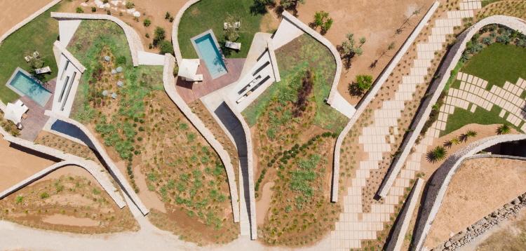 〔안정원의 건축 칼럼〕자연과 동화된 흐름을 추구한 조경화된 건축의 묘미 1