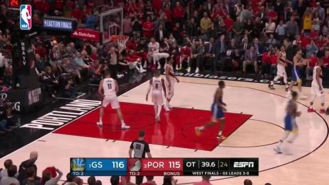 골든스테이트, 5년 연속 NBA 파이널 진출