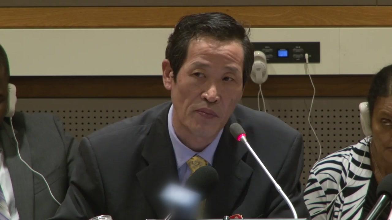 김성 北 유엔대사, 오늘밤 '압류 화물선' 관련 회견