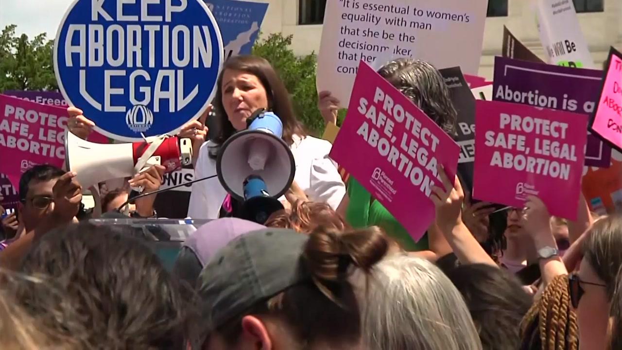 美 전역 500여곳에서 낙태금지법 반대 시위