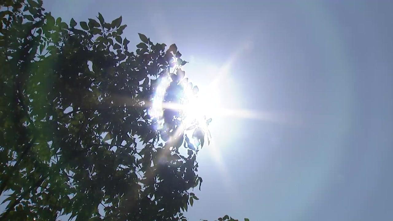 [날씨] 전국에 최고 36℃ 폭염...동해안 내일 첫 열대야