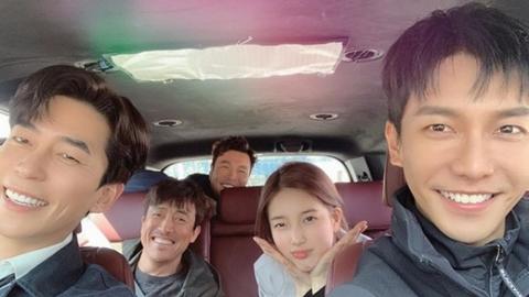 """""""이 열정 전해지길""""…수지·이승기, '배가본드' 촬영 종료 소감"""