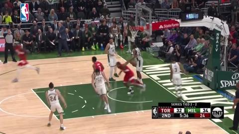 '2패 뒤 3연승' 토론토, 창단 첫 NBA 챔프전 진출 눈앞