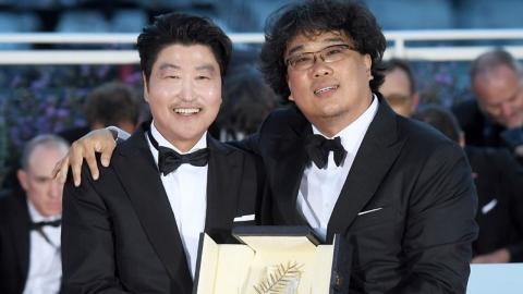 """'황금종려상' 봉준호 감독 """"판타지 영화 찍는 것 같아""""(영상)"""