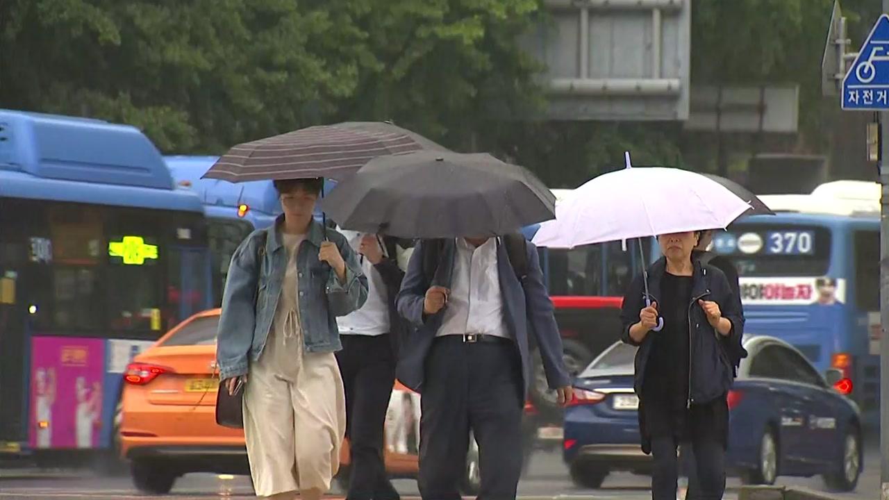 [날씨] 제주·남해안 호우·강풍특보...전국 비바람