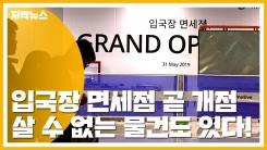 [자막뉴스] 입국장 면세점 31일 개점...이건 못 사요!