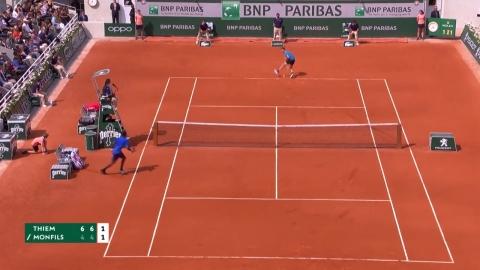 '절묘한 트위너', 팀, 프랑스오픈 8강 합류