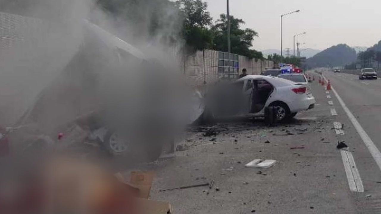 조현병 환자, 고속도로 역주행...3명 사망