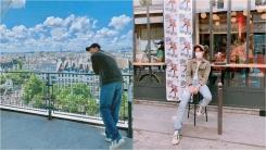 BTS, 월드투어 다음 행선지는 프랑스…파리서 근황 공개