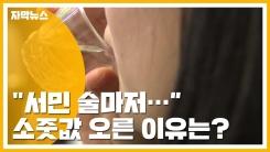 [자막뉴스] 도수 낮아졌는데...'서민 술' 소줏값 오른 이유는?