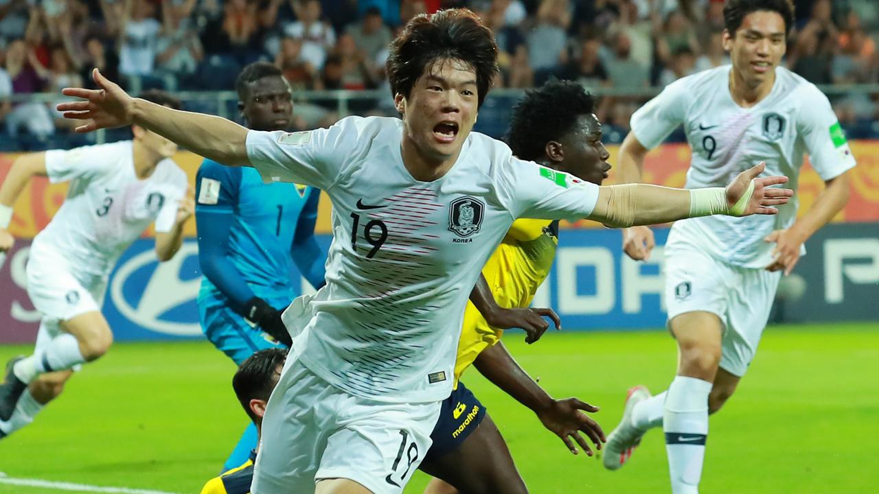 U-20 월드컵 결승행...한국축구 새 역사