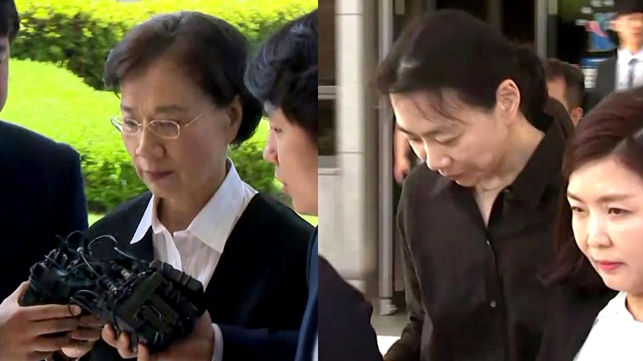 '밀수혐의' 이명희·조현아 모녀의 운명은?