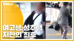 [자막뉴스] 전동차에서 여고생 성추행...30대 치한 잡은 방법
