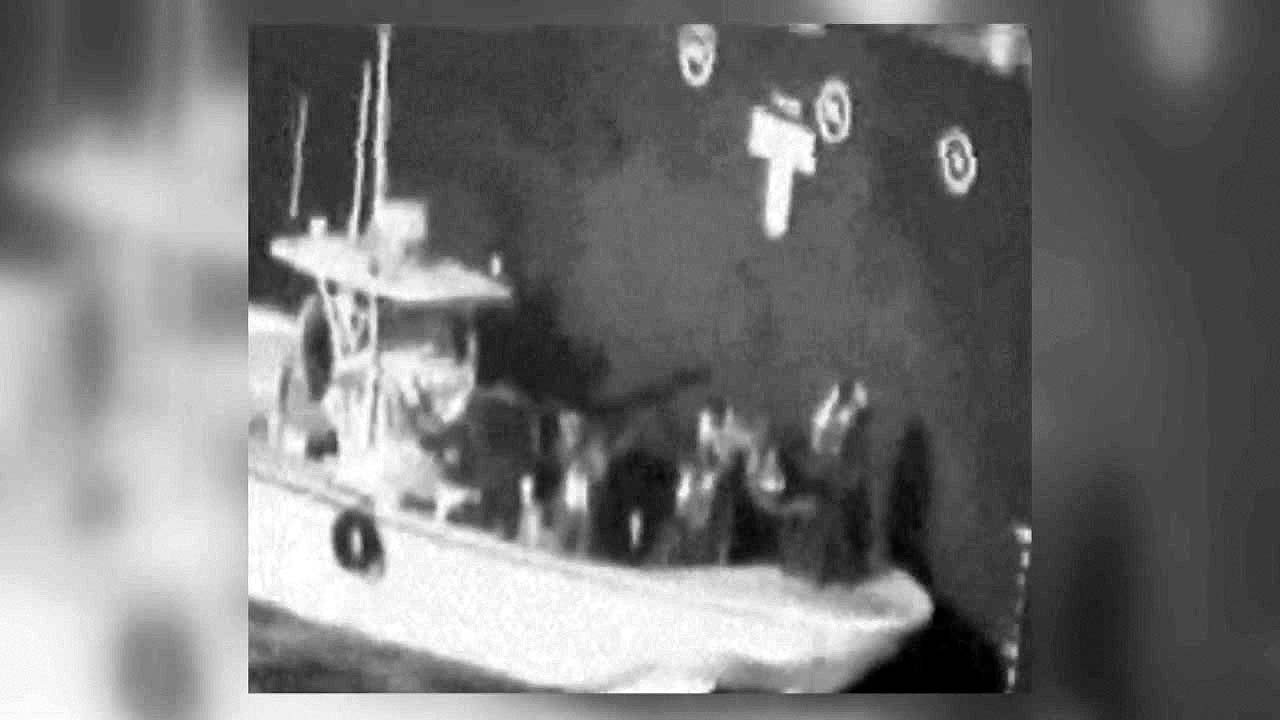 美, 이란의 미폭발 기뢰 제거 동영상 공개