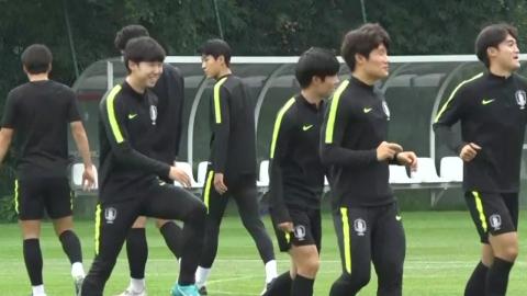 흥 많은 U-20 대표팀, 훈련 음악 선곡 비하인드