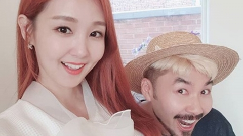 """오정연, 노홍철과 투샷 공개...""""공통점 많아"""" 남다른 친분 인증"""