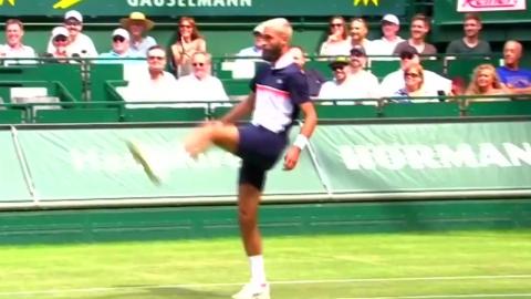 테니스야 축구야? 프랑스 선수들의 화려한 발재간