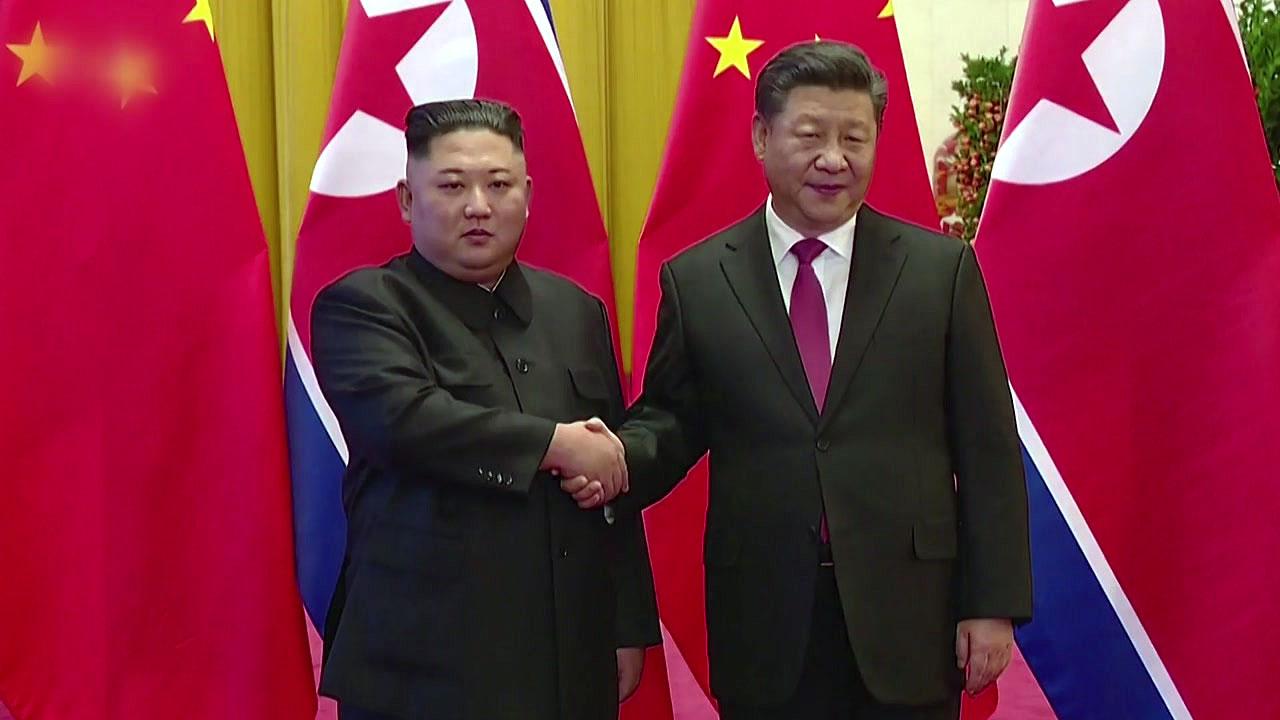 시진핑 방북...14년만 中국가주석 방북