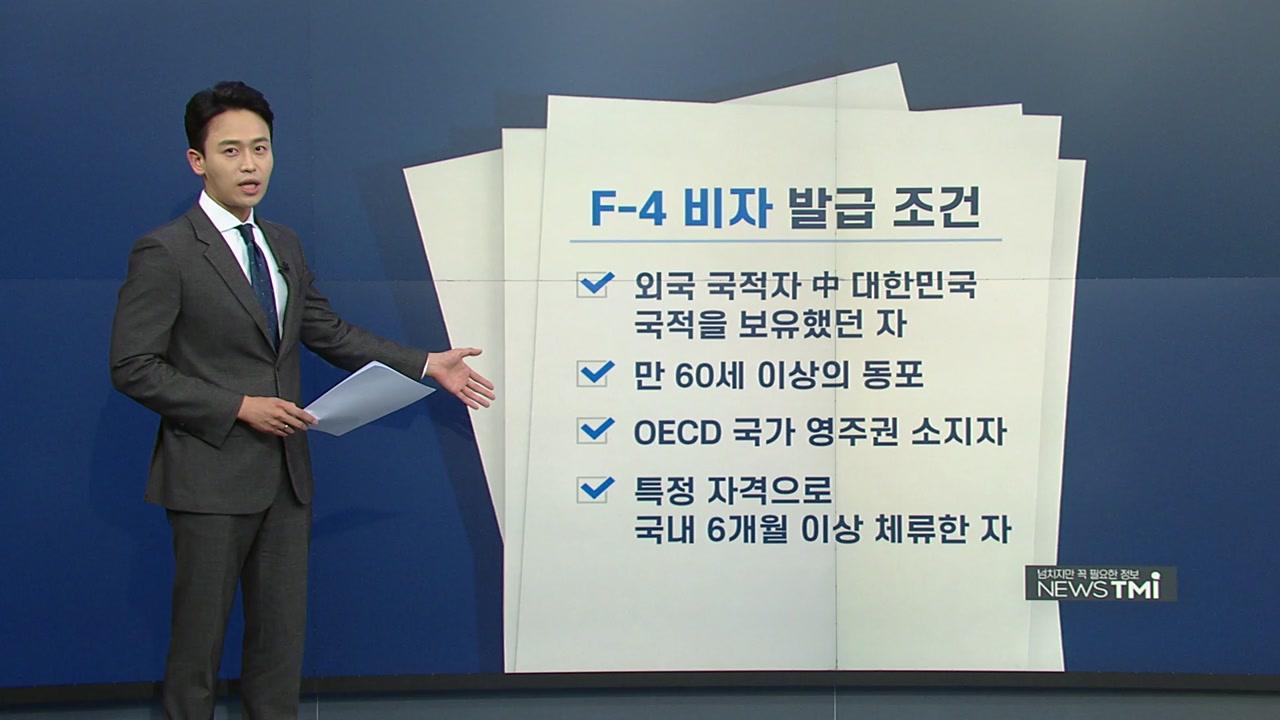 [뉴스TMI] 유승준이 신청한 'F-4 비자'...발급 조건과 특징은?