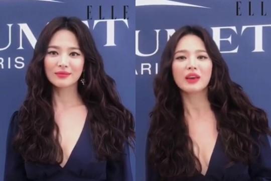 """송혜교, 송중기와 이혼 발표 후 여전한 미모...""""모나코에 있어요"""""""