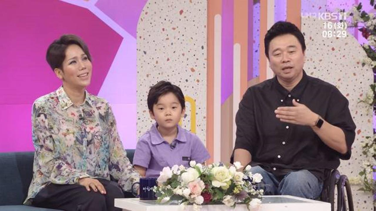 """김송♥강원래 """"시험관 시술 8번 끝에 얻은 아들...우주의 중심"""""""