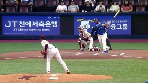 '해외 유턴파' 김선기, 데뷔 첫 선발 등판서 승리