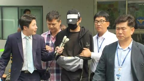 [영상] '성폭행 혐의' 강지환, 침묵 속 검찰 송치