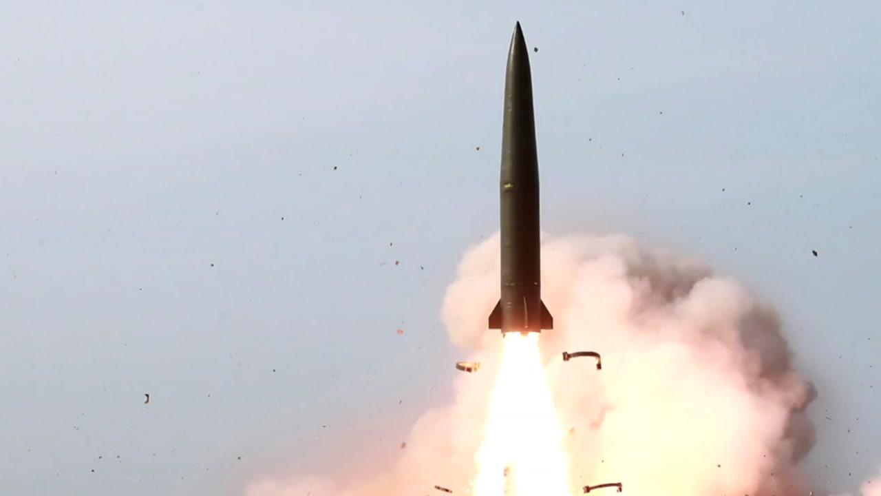 北 78일 만에 단거리 미사일 발사...의도는?